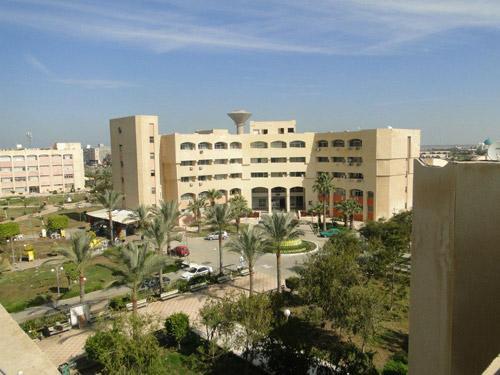 مقر جامعة دمياط - أحد الجامعات المصرية