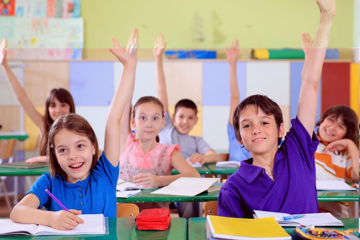 الجودة في التعليم في الفصول الدراسية - مجموعة من الطلاب