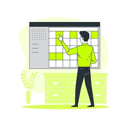 جدول أعمال - إدارة الوقت