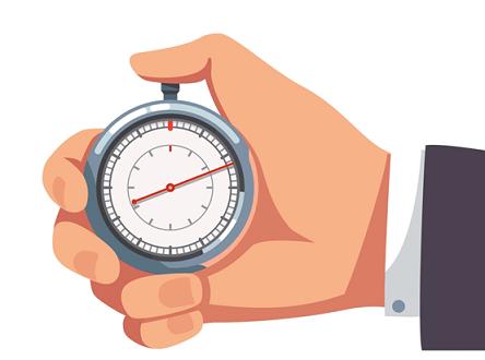 التصحيح الإلكتروني - إدارة الوقت