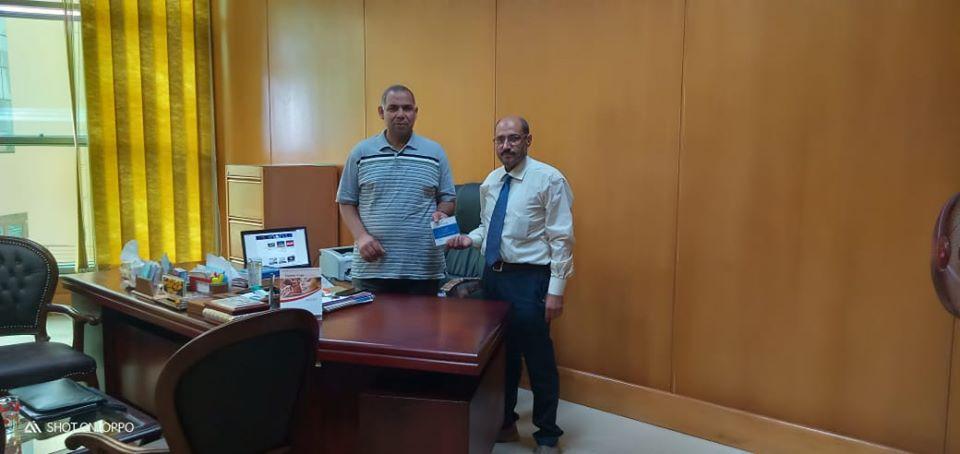 تفعيل برنامج التصحيح الإلكتروني للاختبارات بكلية الحاسبات والمعلومات بجامعة كفر الشيخ
