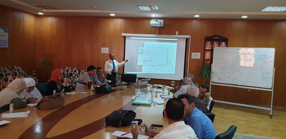 ورشة تدريبية حول برنامج التصحيح الإلكتروني للاختبارات في جامعة كفر الشيخ