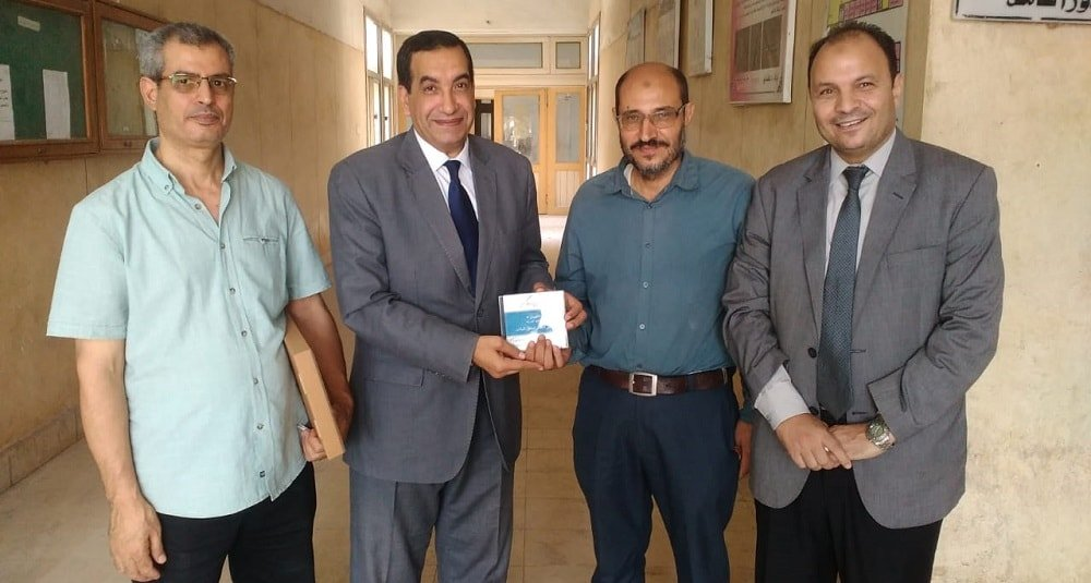 تسليم برنامج التصحيح الإلكتروني للامتحانات في كلية العلوم جامعة طنطا
